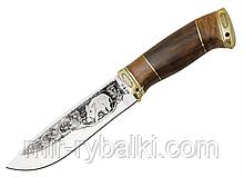 Нож охотничий Вепрь (с рисунком)