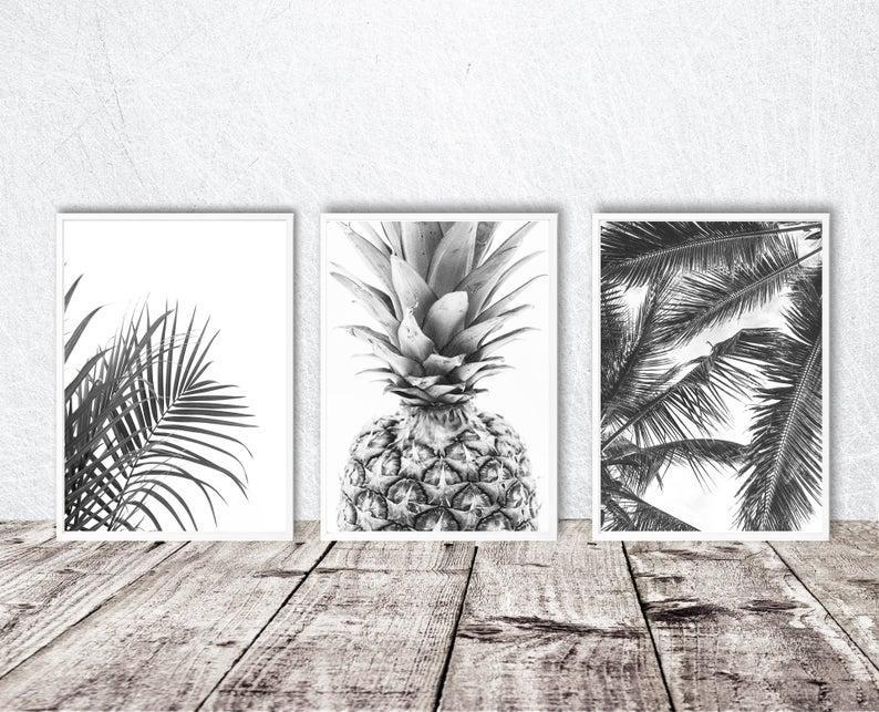 Набор плакатов Palm leaves. Формат А3