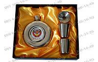 Фляга GT-806 Походная фляга СССР 4в1 Подарочные наборы для мужчин Фляга+лейка+2стопки Набор подарочный фляга