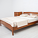 Кровать деревянная двуспальная Лика Люкс, фото 2
