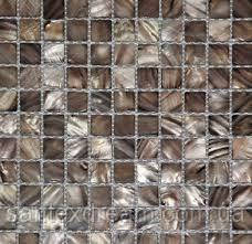 Мозаика Kale-Bareks HL100 прозрачное стекло (2,5х2,5) 30x30