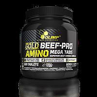 Аминокислотные комплексы Olimp Sport Nutrition Gold beef-pro™ amino 300 tabs