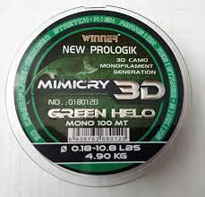 Волосінь Winner New Prologik Mimicry 3D 100m 0.18