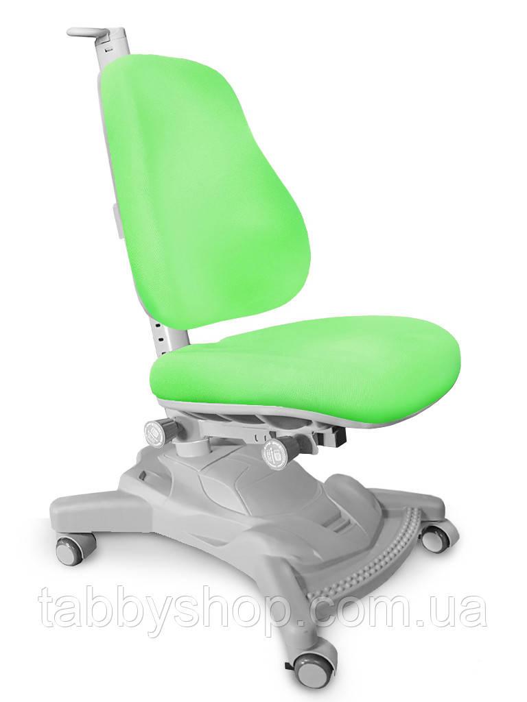 Детское регулируемое кресло MEALUX Onyx Mobi (обивка зелёная)