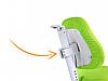 Детское регулируемое кресло MEALUX Onyx Mobi (обивка зелёная), фото 7