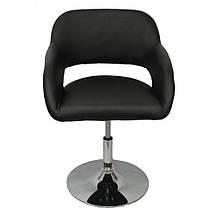 Кресло хокер Bonro B-539 Black, фото 2