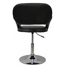 Кресло хокер Bonro B-539 Black, фото 3