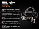 Фонарь налобный Fenix HP30R (Cree XM-L2 + (Cree XP-G2, 1000 люмен, 9 режимов, 2x18650), черный, фото 2
