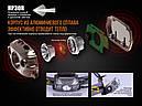 Фонарь налобный Fenix HP30R (Cree XM-L2 + (Cree XP-G2, 1000 люмен, 9 режимов, 2x18650), черный, фото 6