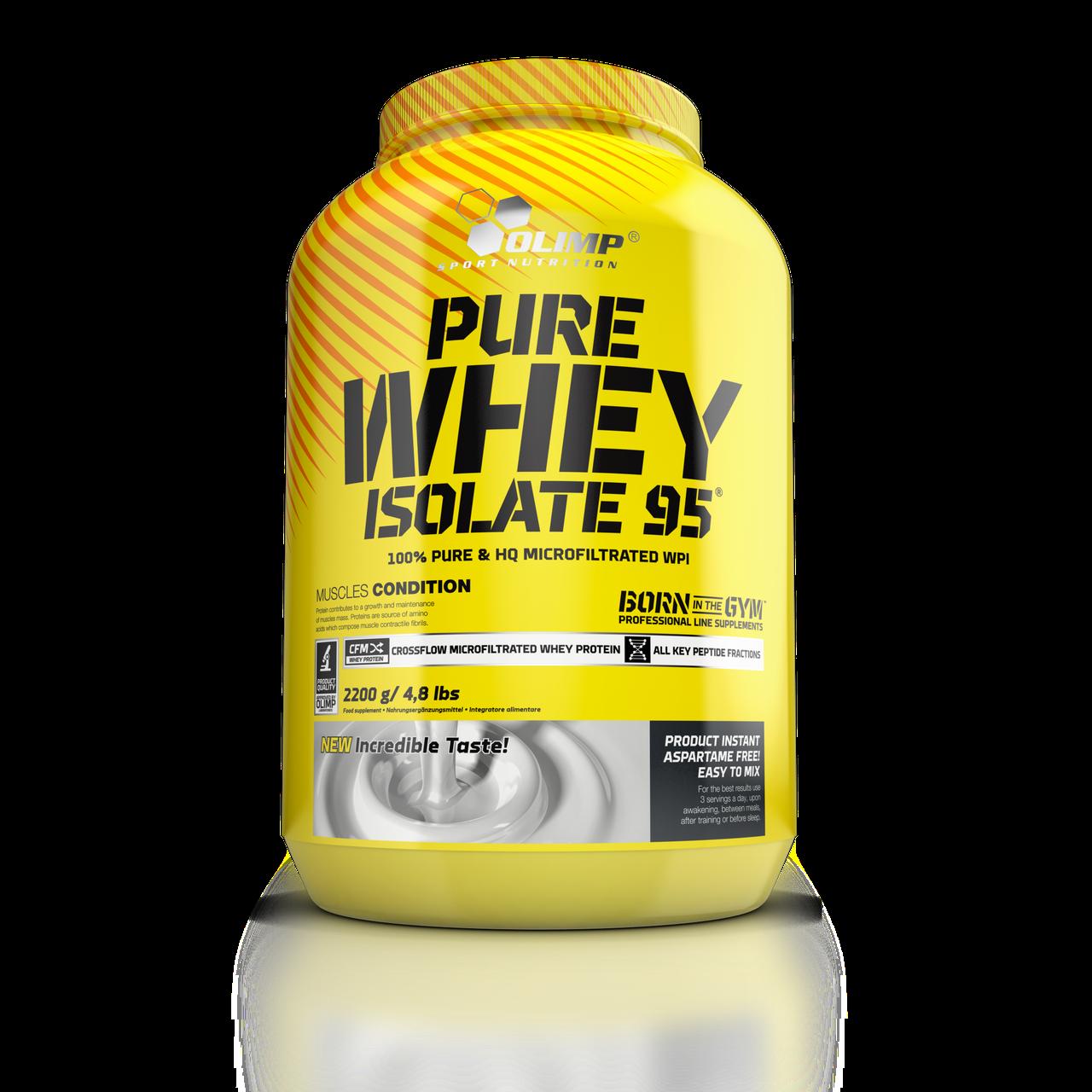 Протеины Изолят Olimp Sport Nutrition Pure whey isolate 95 2200 g