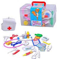 Детский набор доктора в чемодане, чудо-аптечка Metr+ M 0459