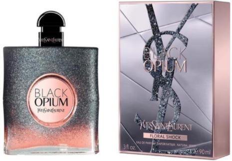 Женская парфюмированная вода Yves Saint Laurent Black Opium Floral Shock, 90 мл
