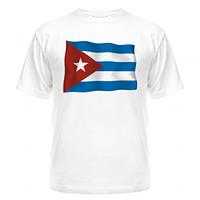 Футболка Куба флаг