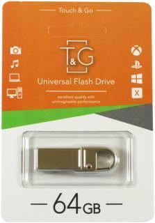 Флеш-накопитель Usb 64Gb T&G 027 Metal series