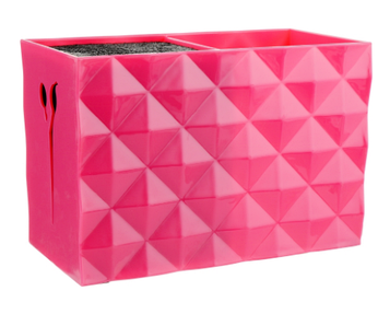 Подставка для парикмахерских ножниц и расчесок SPL  (розовая) (21123)