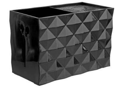 Подставка для парикмахерских ножниц и расчесок SPL , (черная)  (21123)