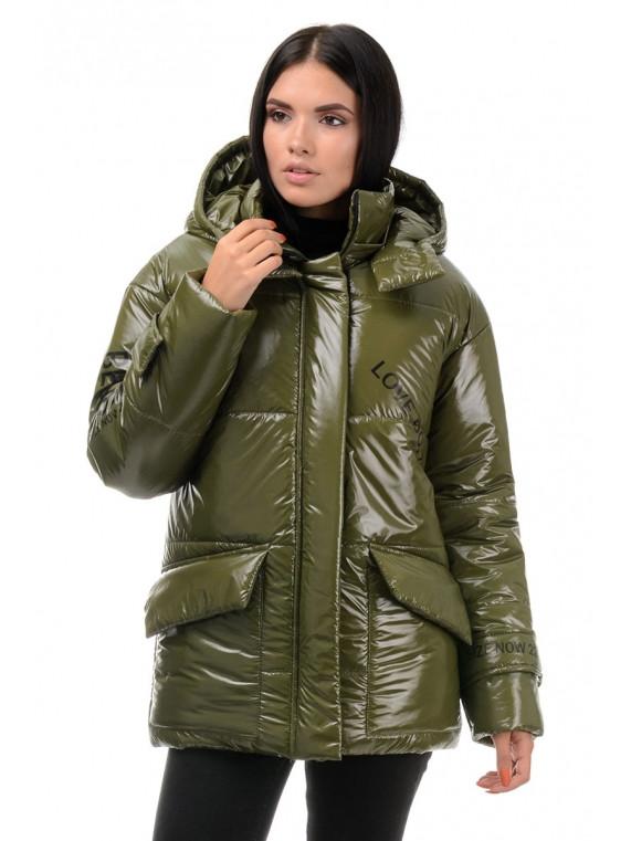 Короткая женская демисезонная куртка