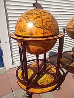 Глобус-бар на 4 резных ножках.42003R