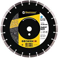 Круг алмазный 350x3.5/2.5x10x25.4-24 F4 Baumesser Asphalt Pro, фото 1