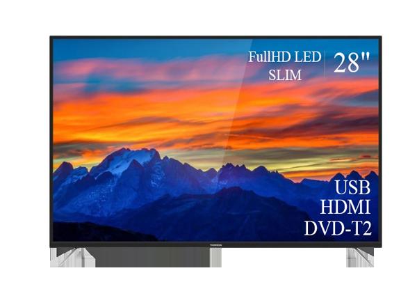 """Телевизор Thomson 28"""" FullHD T2 USB Гарантия 1 ГОД!(1920×1080)"""