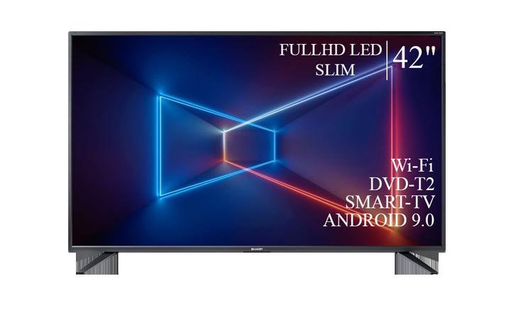 """Телевизор Sharp 42""""  Smart-TV FullHD T2 USB Гарантия 1 ГОД!"""
