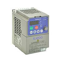 Преобразователь частоты Hitachi SJ200 - 011NFEF, 1.1кВт, 220В
