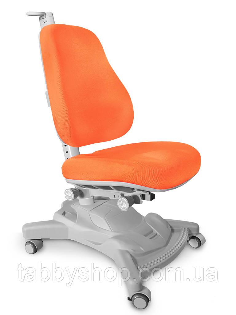 Детское регулируемое кресло MEALUX Onyx Mobi (обивка оранжевая)