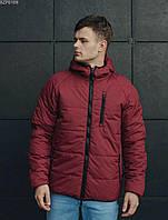 Куртка мужская красная двусторонняя осенняя Staff Стафф
