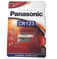 Батарейка Panasonic CR123A 3V 1600 mAh