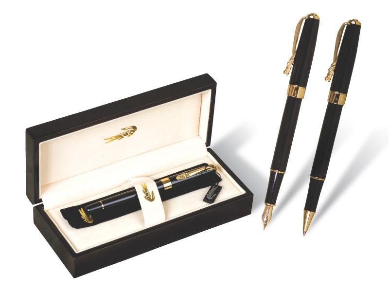 """Ручка капилярная """"Crocodile"""" 506 (1шт/уп) в подарочной упаковке black"""