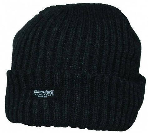 Акриловая вязаная шапка, утеплитель Thinsulate MFH Alaska 10985A , фото 2