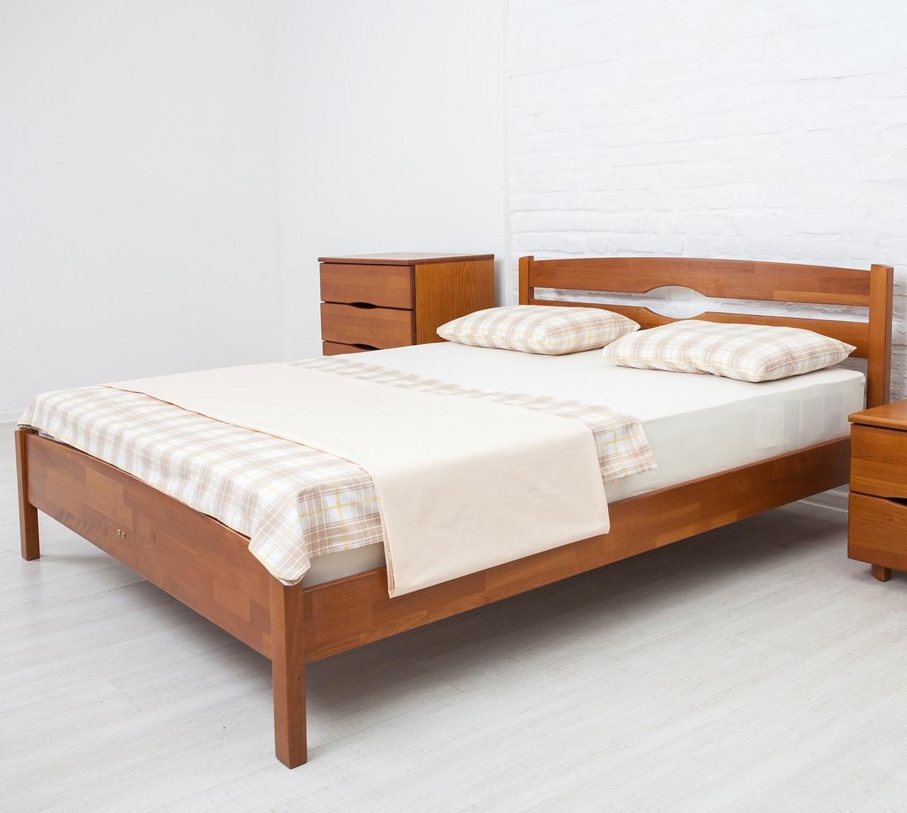 Кровать деревянная двуспальная Лика Люкс