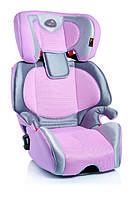 Детское автокресло Bellelli Miki Plus Fix, группа 2/3 (15-36кг), цвет ярко-розовый