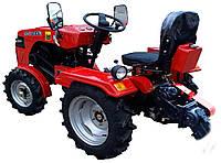 Трактор DW 150RXi регулируемая колея (15 л.с., колеса 5,00-12/6,5-16, с гидрав., новый дизайн, 3 дат