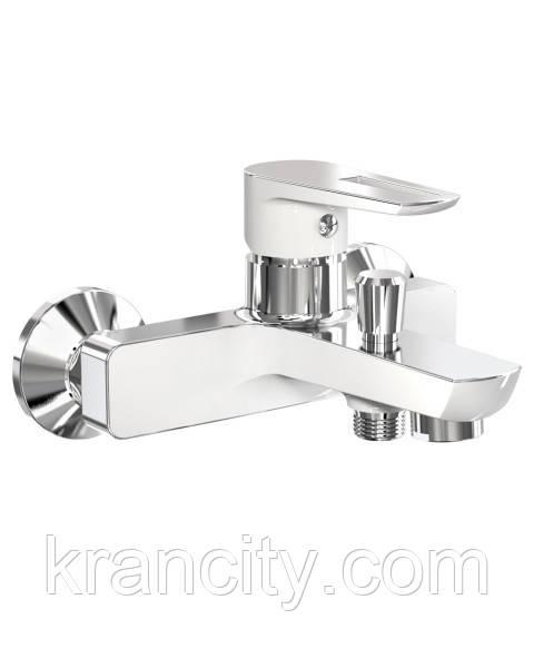 Смеситель для ванны Breclav 10245W,чешский белый кран для ванны и душа