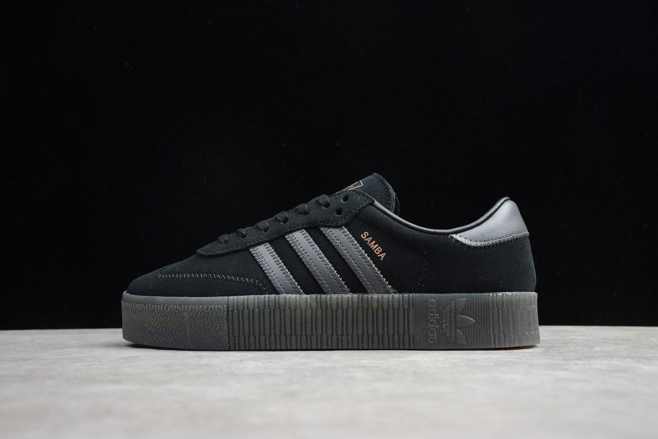 Кроссовки женские Adidas Sambarose / ADM-3663 (Реплика)