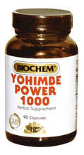 Йохимбе Country life Yohimbe power (йохимбе пауэр) 90 капсул