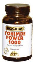 Йохимбе Country life Yohimbe power (йохимбе пауэр) 90 капсул