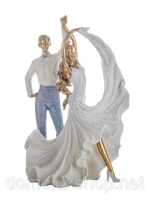 Lefard Фігурка декоративна Пара в танці 32 см (192-071)