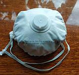 """Респиратор фильтрующий угольный фильтр """"Carbon Pro-V"""" ffp2 N95 Органика Химия Сварка Пестициды, фото 5"""
