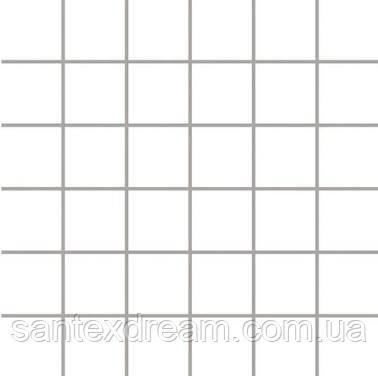Мозаика Paradyz Albir (kostka 4,8 x 4,8) 30x30 bianco