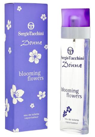 Женская туалетная вода Sergio Tacchini Donna Blooming Flowers, 90 мл