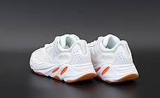 """Кроссовки Adidas Yeezy Boost 700 """"Белые/Оранжевые"""", фото 3"""