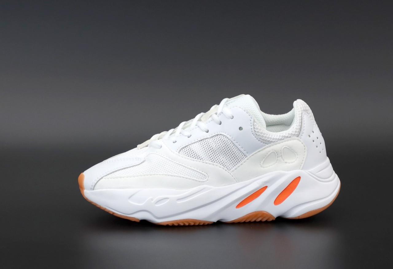 """Кроссовки Adidas Yeezy Boost 700 """"Белые/Оранжевые"""""""