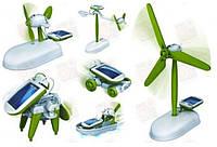 Развивающая и обучающая игрушка конструктор из 6 моделей с питанием от солнечной батареи
