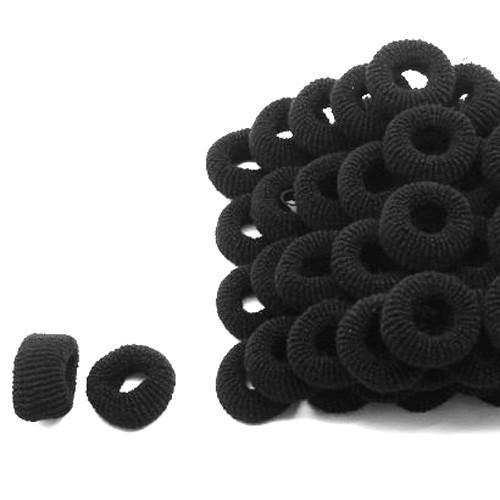 Резинки под основу, черная, 4 см