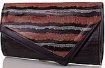 Женский кожаный клатч ETERNO (ЭТЕРНО), черный, ET15043