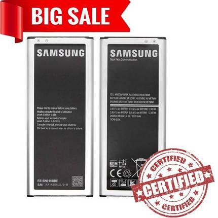 Аккумулятор EB-BN910BBE для Samsung N910 Galaxy Note 4 3220mAh, фото 2