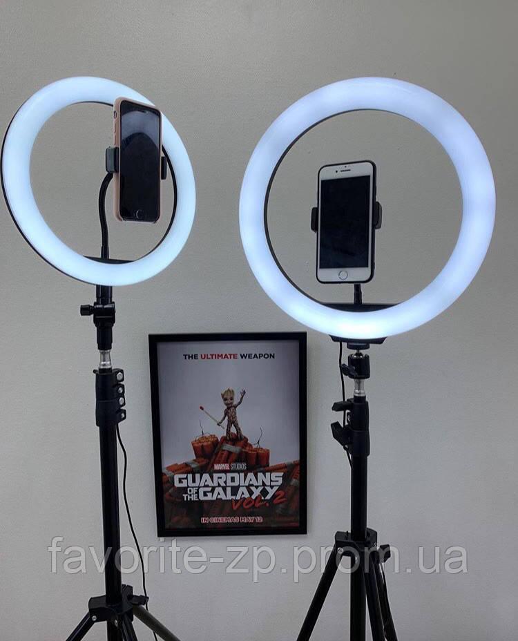 Кільцева LED Лампа зі штативом 30см