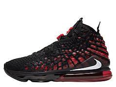 """Кроссовки Nike LeBron 17 """"Черные/Красные"""""""